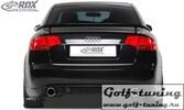 """Audi A4 B7 Диффузор и накладки на задний бампер """"RS4-Look"""""""