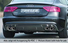 Audi A5 11-16 Sportback Бампер задний S-Line