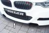 BMW F30/F31 Седан/Универсал 11-15/15- LCI Накладка на передний бампер/сплиттер глянцевая