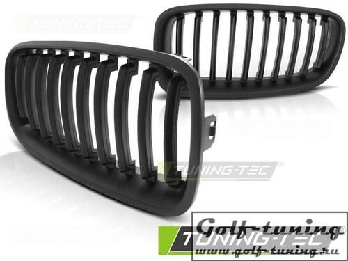 BMW F30 / F31 10-18 Решетки радиатора (ноздри) черные, матовые