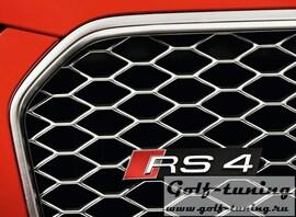 Audi RS4 11- Значок RS4 для решетки радиатора