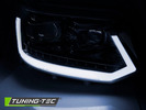 VW T5 GP 09-15 Фары led tube light в стиле T6 черные