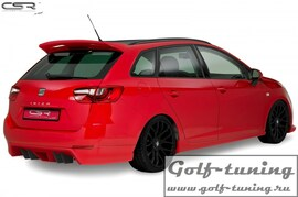 Seat Ibiza 6J ST 08-15 Накладка на задний бампер