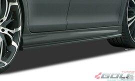 OPEL Astra H GTC Накладки на пороги Edition