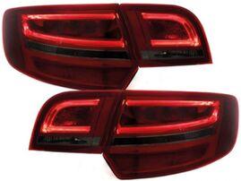 Audi A3 8P 03-08 Sportback Фонари светодиодные, красно-тонированные Lightbar design