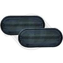 Seat/VW Повторители в крыло lightbar design черные