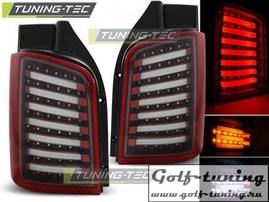 VW T5 03-15 Фонари светодиодные, красно-белые