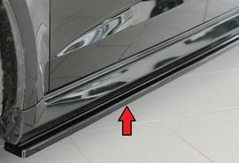 Audi RS3 8V 15-17/17- Накладки глянцевые на штатные пороги