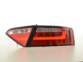 Audi A5 Купе/кабрио 07-11 Фонари светодиодные, красно-белые