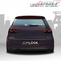 VW Golf 5 Фонари светодиодные, черные urban style с бегающим поворотником