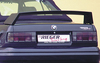 BMW E30 Спойлер на крышку багажника без стоп сигнала