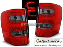 Jeep Grand Cherokee 99-05 Фонари светодиодные, красно-тонированные