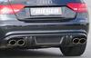 Audi A5 B8/B81 07-11/11-16 2,0l TFSI Глушитель rieger