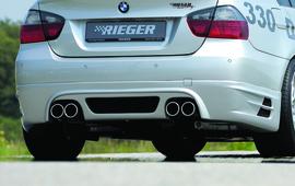 BMW E90/E91 04-11 335I Накладка на задний бампер