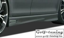 Opel Astra G Coupe / Cabrio Накладки на пороги GT4