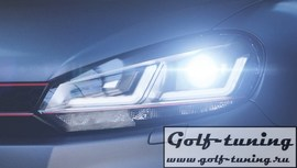 Golf 6 Фары LEDriving Xenarc Edition GTI ксенон