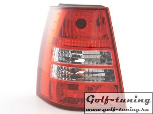 VW Golf 4 Универсал Фонари красно-белые