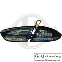 Seat Leon 1P1 09-12 Фонари светодиодные, тонированные