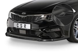 Kia Optima (JF) GT/GT-Line 18- Накладка на передний бампер Carbon look