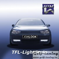 VW Golf 4 Дневные ходовые огни хром JOM