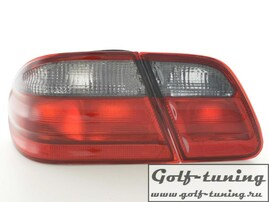 Mercedes W210 99-01 Фонари красно-тонированные