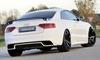 Audi А4 11-16/A5 11-16 Насадки на глушитель черные