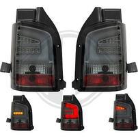 VW T5 GP 09-15 Фонари Lightbar design тонированные