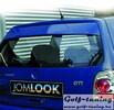 VW Golf 2 Козырек на заднее стекло