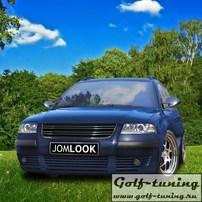 "VW Passat B5+ Решетка радиатора без значка с хром полосками ""R32 Look"""