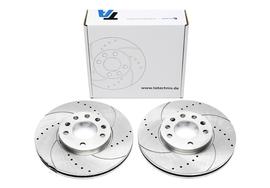 Fiat Croma/Opel Signum/Vectra C/Saab 9-3 Комплект спортивных тормозных дисков