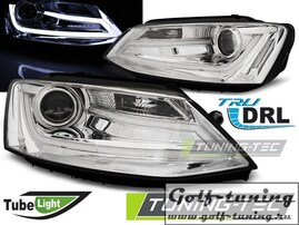 VW Jetta 6 11-19 Фары Tube lights черные
