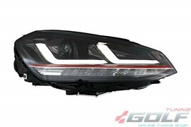 VW Golf 7 12-17 Фары LEDriving Xenarc upgrade halogen GTI