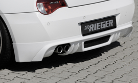 BMW Z4 06-09 Coupe/Roadster Накладка на задний бампер
