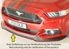 Ford Mustang 6 (LAE) 14-17 Купе/кабрио Накладка на передний бампер/сплиттер