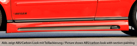VW Golf 4/VW Bora Накладки на пороги Carbon Look