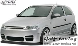 """Opel Corsa C Бампер передний """"GT4"""""""