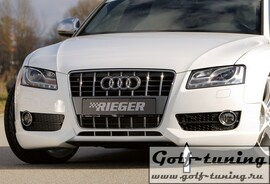 Audi A5 B8/B81 07-11 Купе/Кабрио Накладка на передний бампер