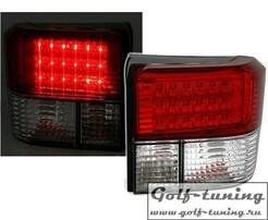 VW T4 90-03 Фонари светодиодные, красно-белые