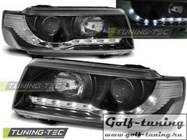VW Passat B4 93-97 Фары Devil eyes, Dayline черные