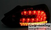 VW Scirocco 08-14 Фонари светодиодные, красно-белые с светодиодным поворотником