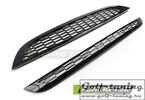 Mini Cooper R50/R53 01-06 Комплект решеток S TYPE черных, глянцевых