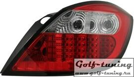 Opel Astra H 5Дв Фонари светодиодные, красно-белые