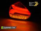 FORD FOCUS 3 15-18 Хэтчбек Фонари lightbar design черно-красные с бегающим поворотником