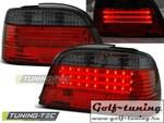 BMW E38 94-01 Фонари светодиодные, красно-тонированные