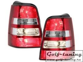 VW Golf 3 Универсал Фонари красно-белые