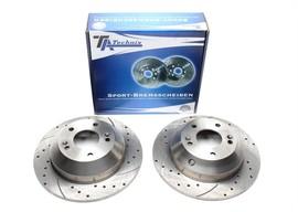 Hyundai Santa Fe/Kia Sorento Комплект спортивных тормозных дисков