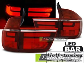 BMW X5 07-10 Фонари светодиодные, красно- белые Lightbar
