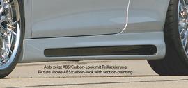 VW Eos 1F 06-15 Накладки на пороги Carbon Look