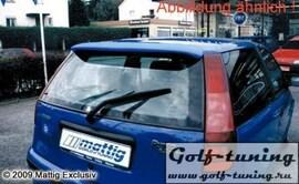 Fiat Punto 93-99 Спойлер на крышку багажника с стоп сигналом