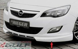 Opel Astra J 09-12 Спойлер переднего бампера